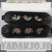 پرژکتور ۳ لنزی پراید اس ام دی -کد 1019