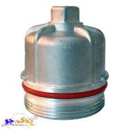 درپوش فیلتر روغن 206 فلزی | یدک جو